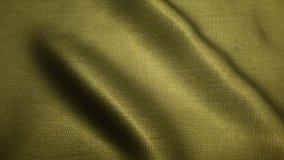 Złotej tkaniny cajgów wysokiej jakości tekstura, rusza się fala, Bezszwowa pętla zdjęcie wideo