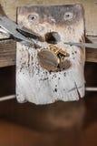 Złotnik pracy ławka 2 Fotografia Stock