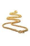 Złoto łańcuch Zdjęcie Stock