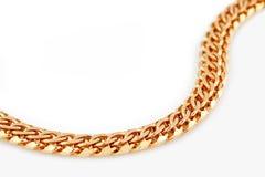 Złoto łańcuch Zdjęcie Royalty Free