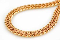 Złoto łańcuch Obrazy Royalty Free