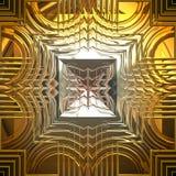 złoto błyszczący royalty ilustracja