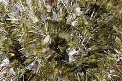 Złoto barwiący boże narodzenie ornamenty obrazy royalty free
