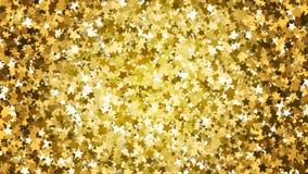 Złoto gwiazdy błyskotliwości tło Zdjęcia Stock