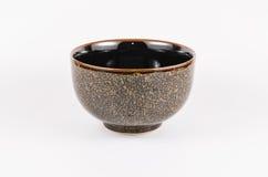 Złoto i czerń barwimy ceramiczną porcelanę Obrazy Royalty Free