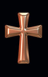 Złoto krzyż Zdjęcia Royalty Free