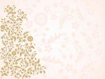 Złoto kwiaty Fotografia Stock