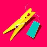Złoto lub koloru żółtego czop Zdjęcie Royalty Free