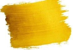 Złoto malujący tło Zdjęcia Stock