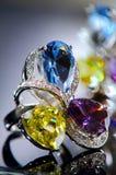 Złoto pierścionek Obraz Royalty Free