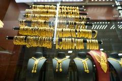 Złoto sklep Zdjęcia Stock
