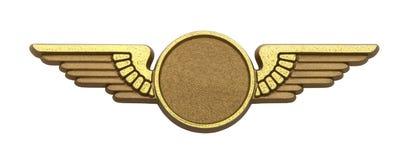 Złoto skrzydła zdjęcia stock