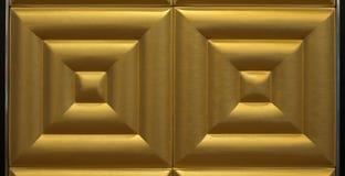 Złoto tafluje tło dekorację Fotografia Royalty Free