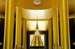 złoto wśrodku nong pah pong świątyni wat Obraz Stock
