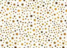 złoto w white star zdjęcia royalty free