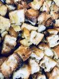 Złoto wznosi toast chlebową teksturę Zdjęcie Stock
