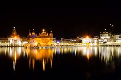 Złoty świątynny Amritsar Obrazy Royalty Free