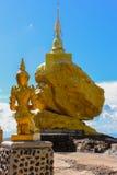Złoty świątynny złoty kamień Obraz Stock