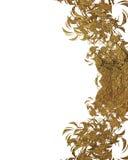 Złoty abstrakcjonistyczny projekta szablonu projekt Element dla projekta Szablon dla projekta odbitkowa przestrzeń dla reklamy br Fotografia Royalty Free