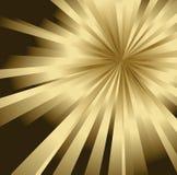 złoty abstrakcjonistyczny tło Obraz Stock