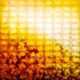 złoty abstrakcjonistyczny tło ilustracja wektor