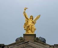 Złoty anioł Fotografia Royalty Free