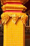Złoty architektura szczegółu budynek Zdjęcie Royalty Free