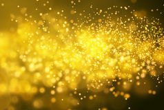 Złoty błyskotliwość wektoru tło EPS10 Obraz Royalty Free