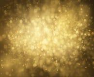 Złoty błyskotliwość wektoru tło EPS10 Fotografia Royalty Free