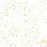 Złoty błyskotliwości ramy tło również zwrócić corel ilustracji wektora Fotografia Royalty Free