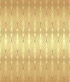 Złoty bezszwowy tło Fotografia Royalty Free