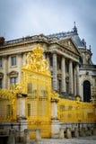 złoty brama pałac Versailles Fotografia Royalty Free