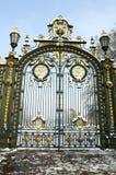złoty brama park zdjęcie royalty free