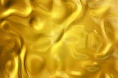 złoty cieczy Zdjęcie Royalty Free