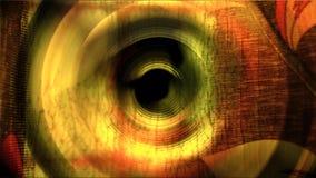 Złoty czerwony tło z jaskrawymi gradientu i plamy skutkami ilustracji