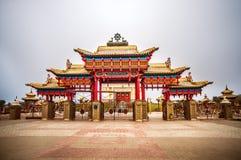 Złoty dom Buddha Shakyamuni Zdjęcie Stock