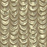 złoty draps środek royalty ilustracja