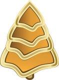 Złoty drzewo obraz stock
