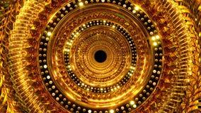 Złoty dziury tło ilustracji