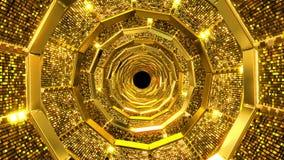 Złoty dziury tło royalty ilustracja