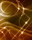 Złoty elegancki abstrakcjonistyczny tło Fotografia Stock