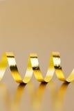 Złoty faborek zdjęcia stock