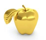 Złoty jabłko Zdjęcia Royalty Free