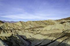 Złoty jar, Śmiertelny Dolinny park narodowy Kalifornia Zdjęcie Stock