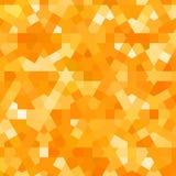 Złoty jesień wzór z arabską teksturą Obraz Stock