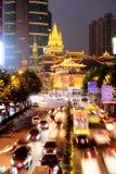 Złoty Jing świątynia, Szanghaj Chiny Zdjęcia Royalty Free