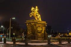 złoty konia fotografia royalty free