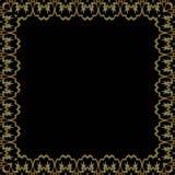 Złoty koronka wzór obrazy royalty free
