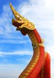 Złoty królewiątko Nagas Zdjęcia Royalty Free