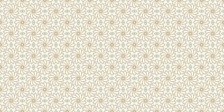 Złoty kwiecisty wzór, część 02 royalty ilustracja